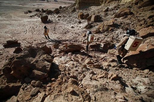 Mars base in Utah 06