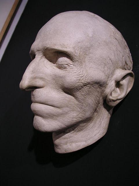nicola tesla death mask