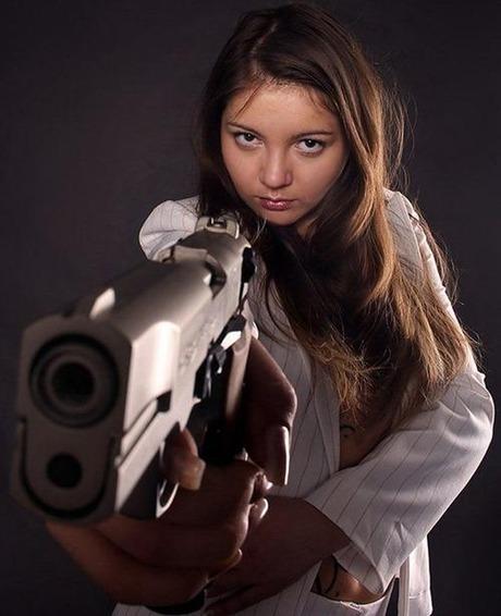 gun and woman_27