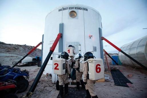 Mars base in Utah 11