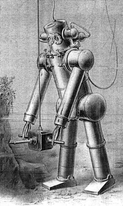 History of Diving Suits 17