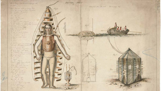 History of Diving Suits 09
