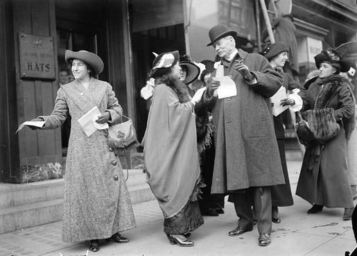 The 1913 Women's Suffrage Parade-09