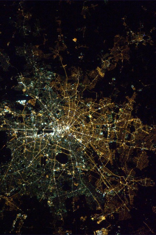 Berlin Taken From Space