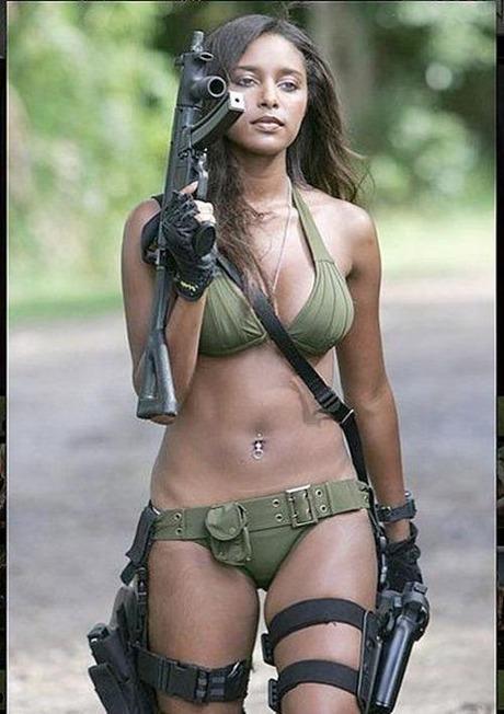 gun snd woman_01