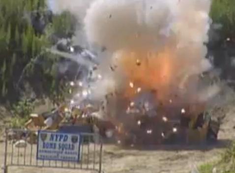 NYPD Fireworks Destruction Extravaganza