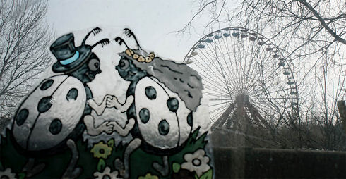 Surreal Abandoned Amusement Park in Berlin 04