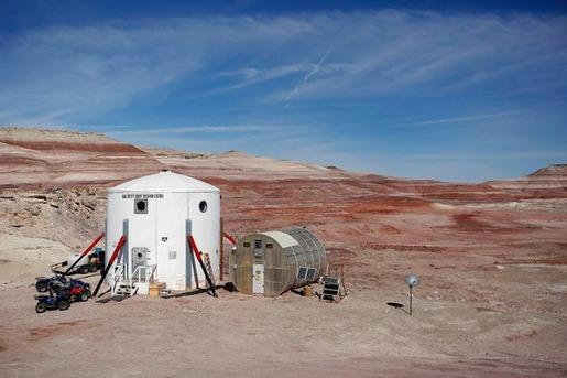 Mars base in Utah 09