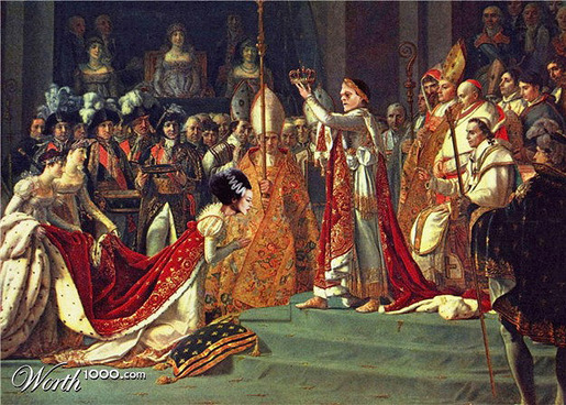 Emperor and Empress Frankenstein
