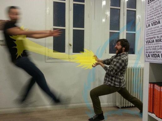 Fake Dragon Ball Attacks 16