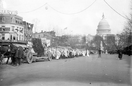 The 1913 Women's Suffrage Parade-20
