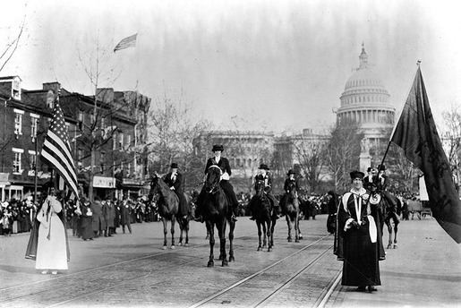 The 1913 Women's Suffrage Parade-13