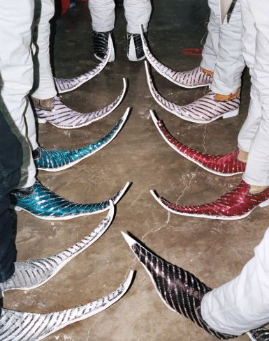 mexican pointee boots 11