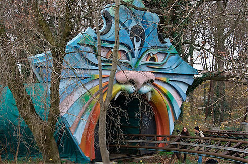 Surreal Abandoned Amusement Park in Berlin 05
