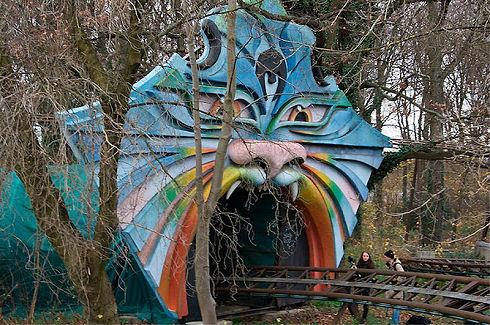 Surreal Abandoned Amusement Park in Berlin 05