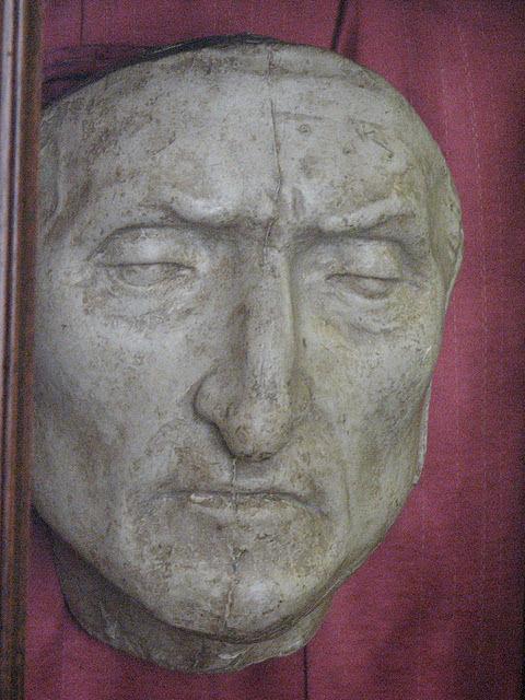 danter death mask