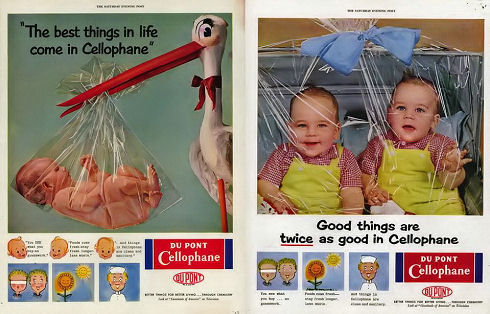 CELLOPHANE ADS