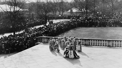 The 1913 Women's Suffrage Parade-15