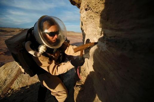 Mars base in Utah 08