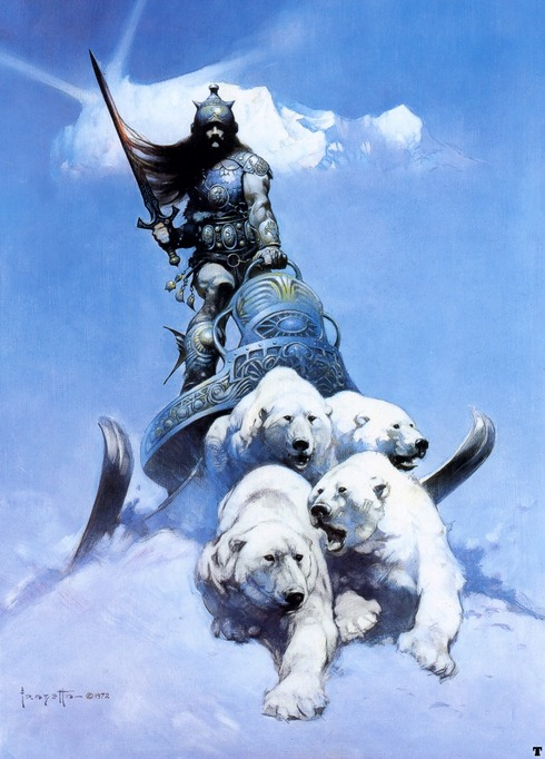 frank_frazetta_thesilverwarrior
