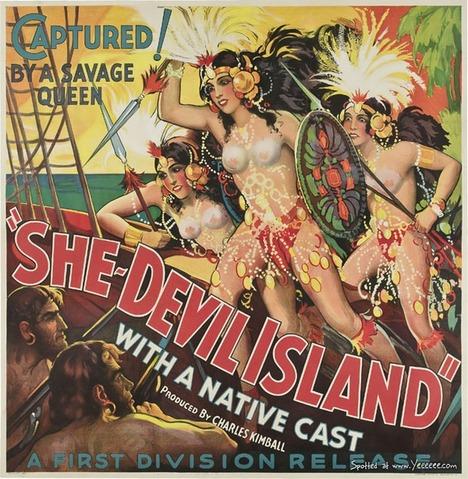 Vintage Erotic Horror Movie Poster_01