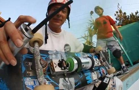Spray Painting Skateboards
