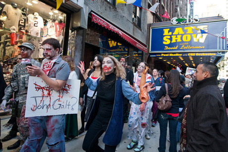 106_Zombies roamed the streets of NYC