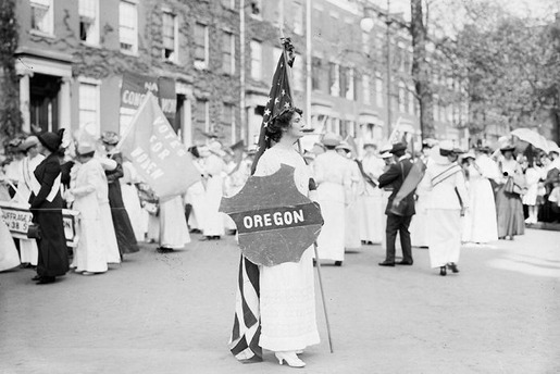 The 1913 Women's Suffrage Parade-14