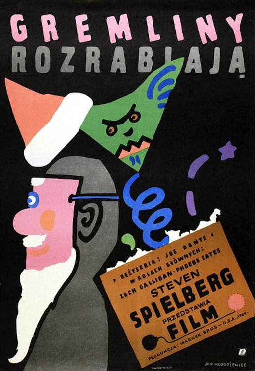 Amazing Vintage Polish Posters of Classic American Films (12)