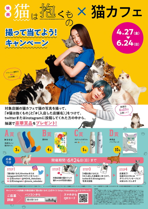 【最終】猫カフェキャンペーンポスター(1)