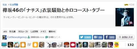 欅坂46最終閲覧数