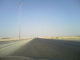 延々と続く砂漠