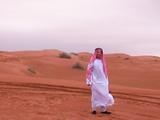油田を掘り当てるアラブの王子(笑)