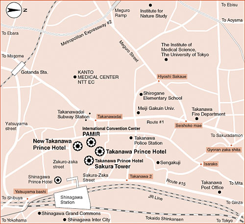BKPMインドネシア投資促進セミナー会場案内図