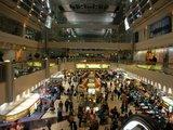 ドバイ国際空港のシェイクラシッドターミナル