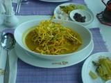 タイ航空レストランのカオソーイ