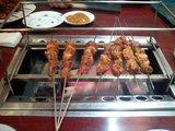 延吉香の羊串肉
