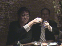 内藤さん、ラベッツァリさん