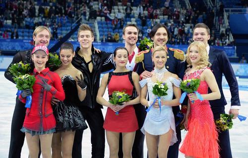 ソチ五輪-フィギュア団体-ロシア