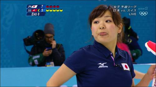 吉田知那美-対スイス-11