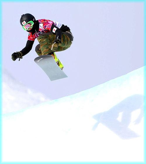 スノーボードクロス-藤森由香