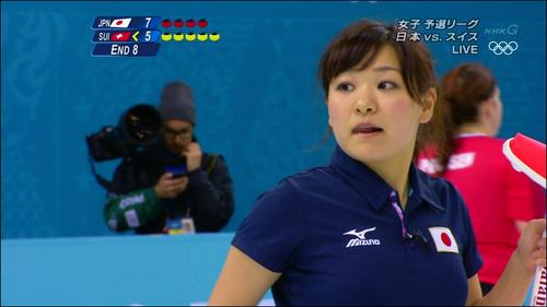 吉田知那美-対スイス-12