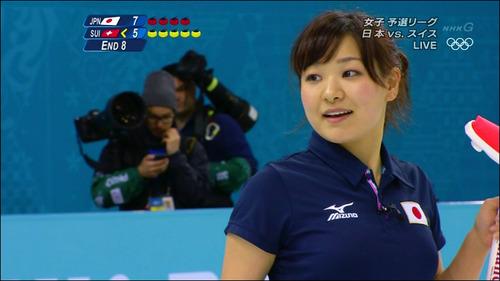 吉田知那美-対スイス-10