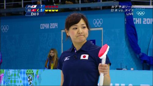 吉田知那美-対スイス-21