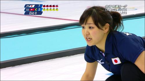 吉田知那美-対スイス-09
