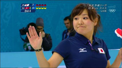 吉田知那美-対スイス-13