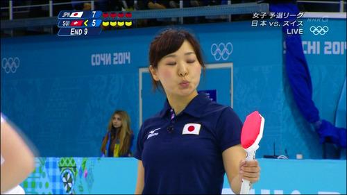 吉田知那美-対スイス-20