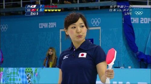 吉田知那美-対スイス-18