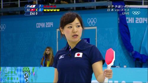 吉田知那美-対スイス-16