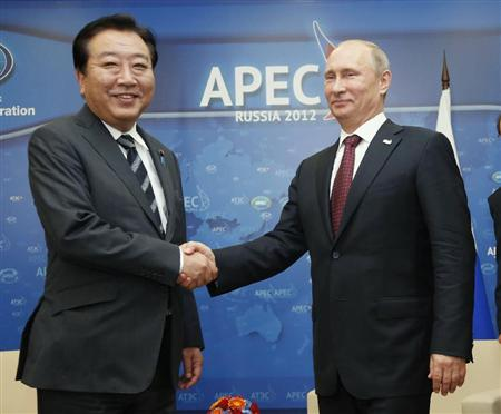 野田首相 プーチン大統領